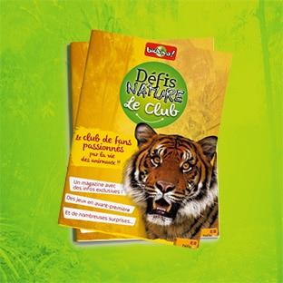 Club Défis Nature : Magazines gratuits sur les animaux