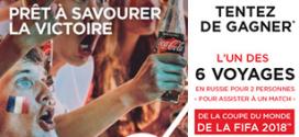 Jeu Coca-Cola / Carrefour : 6 voyages et 466 ballons de foot