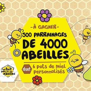 Jeu Croquons La Vie Abeilles : 500 x 6 pots de miel à gagner