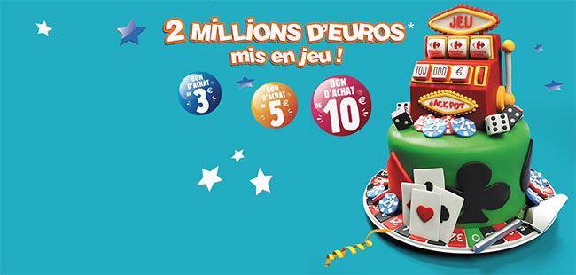 Jeu Carrefour Market L'irrésistible Anniversaire
