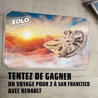 Jeu Renault Star Wars : Voyage à San Francisco à gagner