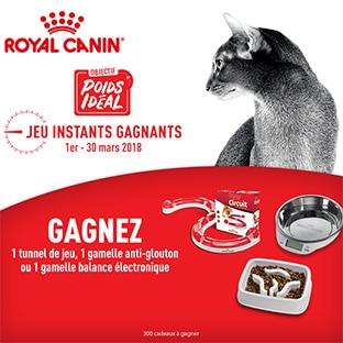 Jeu Royal Canin : 300 cadeaux Poids Idéal à gagner