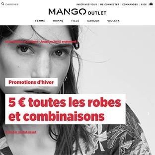 Promo Mango : Robes et combinaisons à 5€ seulement
