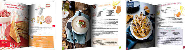 mini livres de recettes Perle du Nord offerts