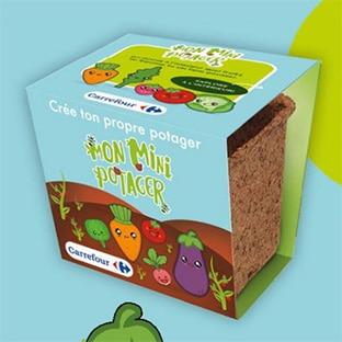 Carrefour Mini Potager : Pots de graines offerts avec vos courses