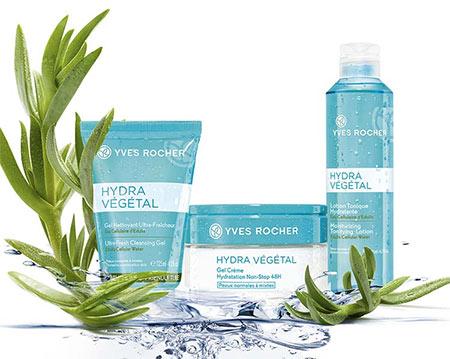 Tentez de recevoir 3 soins Hydra Végétal Yves Rocher