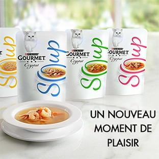 Test Gourmet : 2500 packs de 48 sachets Crystal Soup gratuits