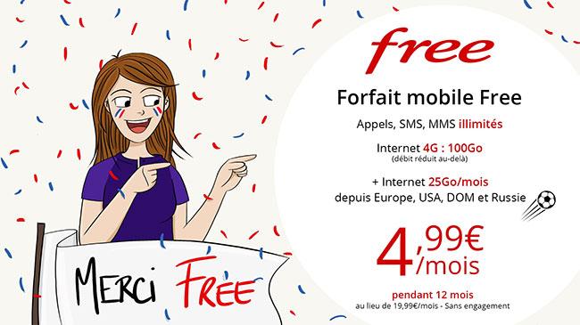 Free Mobile sur Vente-Privee.com : Abonnement illimité