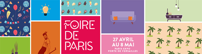 invitations gratuites foire de paris 2019 billets offerts. Black Bedroom Furniture Sets. Home Design Ideas