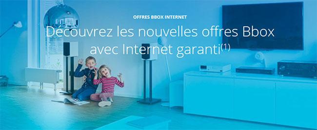 Découvrez les nouveaux forfaits Bbox de Bouygues