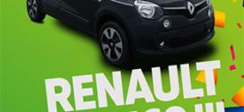Jeu anniversaire Siligom : voiture Renault Twingo à gagner