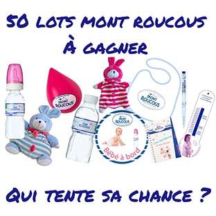 Jeu Mont Roucous : 50 lots d'articles pour bébé à gagner