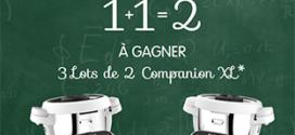 Jeu Moulinex Gagnez Partagez : 12 robots Companion / Cookeo