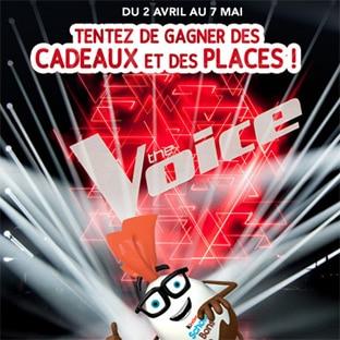 Jeu Kinder : 1625 cadeaux et 48 places The Voice à gagner