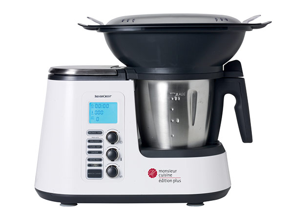 Bon plan lidl robot silvercrest monsieur cuisine plus 229 for Robot monsieur cuisine plus