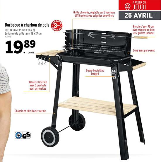 Barbecue pas cher chez Lidl