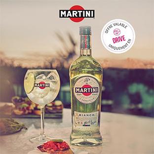 Promo Carrefour Drive + ODR = 2 bouteilles de Martini à 4,1€
