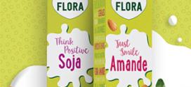 Test gratuit de boissons Flora Amande et Soja