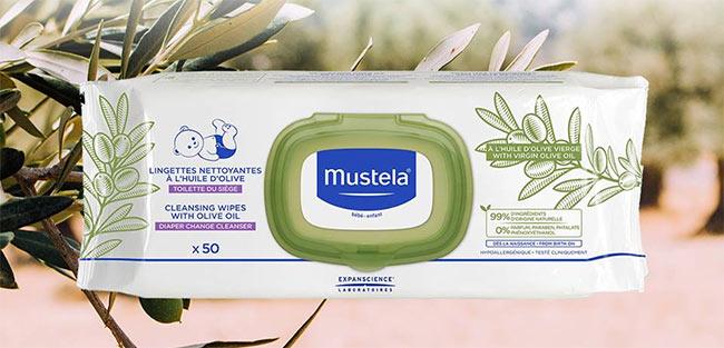 Testez les lingettes Mustela