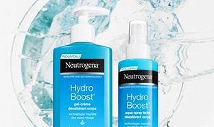 Test Neutrogena : Soins Hydro Boost pour le corps gratuits
