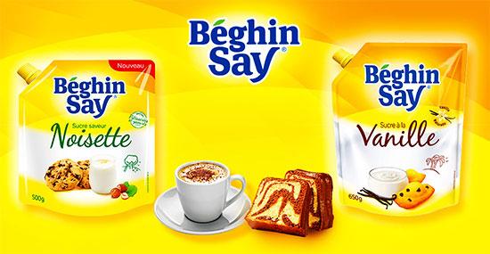 Testez le sucre Béghin Say à la noisette et à la vanille