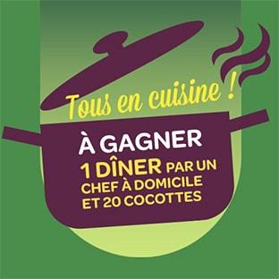 jeu Tous en Cuisine St Hubert Oméga 3