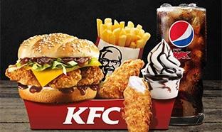 Bon plan KFC Méga Box édition limitée : 5€ les 5 produits