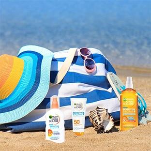 Promo Carrefour : Crème solaire Garnier pas chère