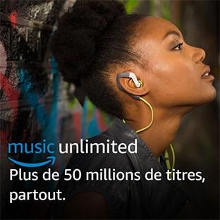 Abonnement Amazon Music Unlimited gratuit pendant 30 jours