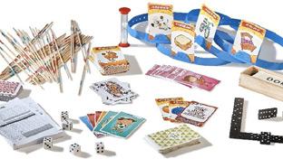 Jouets Gifi pas chers : Boîte de 8 jeux de société à 10€
