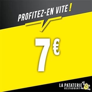 Restaurants La Pataterie : Bon de réduction de 7€