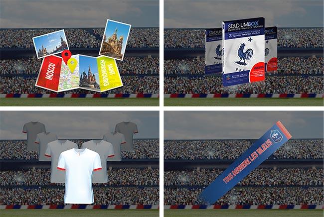 Cadeaux à gagner aux instants gagnants des marques partenaires Carrefour