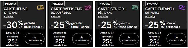 Économisez toute l'année avec les cartes SNCF