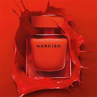 Échantillons gratuits du parfum Narciso Rodriguez Rouge