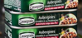 Échantillons gratuits d'Aubergines Provençales de Cassegrain