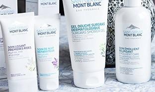 Échantillons gratuits de soins Saint-Gervais Mont-Blanc
