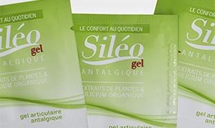 Échantillons gratuits de gel antalgique Siléo contre les douleurs