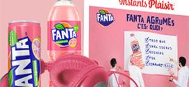Instants Plaisir Box dégustation Coca-Cola : coffret Fanta