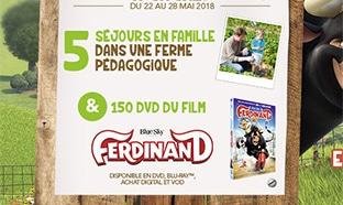 Jeu Croquons la Vie Cora : 5 séjours et 150 DVD Ferdinand
