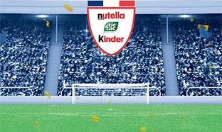 Jeu Nutella Kinder Foot
