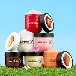 échantillons gratuits Body Yogurt de The Body Shop