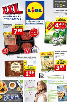 Catalogue Lidl de la semaine : XXL Quantité Maxi à prix mini