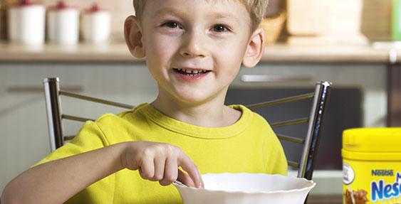 testez Mon 1er Nesquik pour enfants de 3 à 5 ans