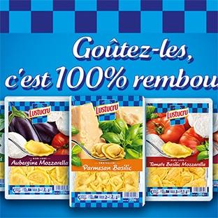 ODR Lustucru Selection : Pâtes farcies 100% remboursées