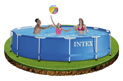 Piscine tubulaire Intex 3,66x0,76m