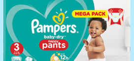 Pampers : 4 packs de couches pour 17,76€ (au lieu de 109.20€)