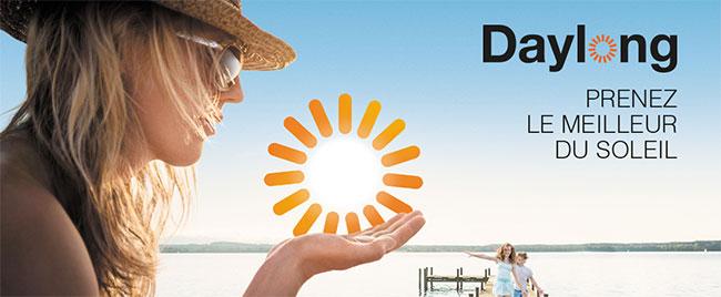 testez une protection solaire SFP50+ de Daylong