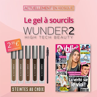 Magazine Public : Bon plan Gel à sourcils Wunder2