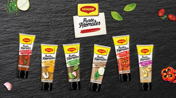 testez les Purées d'Aromates de Maggi et donnez votre avis