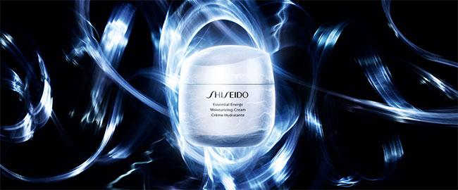 soins hydratants Essential Energy Shiseido gratuits